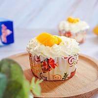 不回缩的芒果奶油cupcake#安佳儿童创意料理#的做法图解15