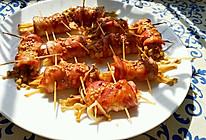烤培根金针菇卷的做法