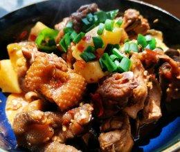 家常版土豆炖鸡块的做法