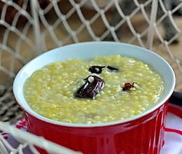 红枣小米粥的做法