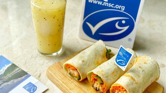#鲜到鲜得,月满中秋,沉鱼落宴#比目鱼麦卷的做法