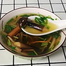 自制素菌汤