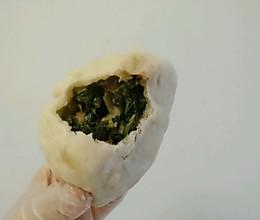 萝卜缨菜包的做法