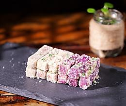 #我要上首焦#「反沙芋头」翻砂紫薯,的做法