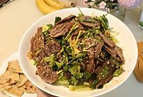 下酒菜:凉拌卤牛肉的做法