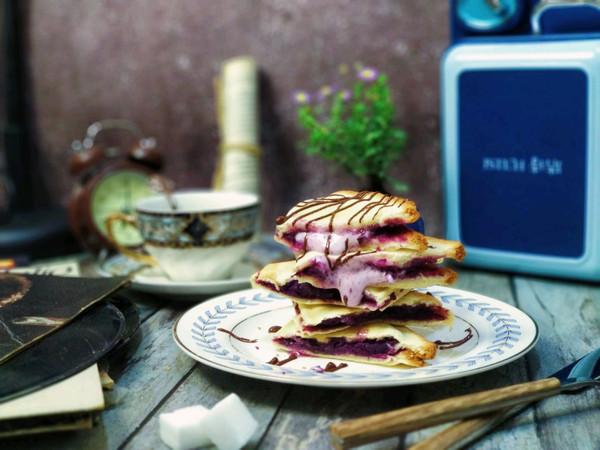 棉花糖飞碟三明治的做法