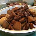 大喜大牛肉粉试用之红烧肉
