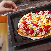 培根披萨的做法图解4