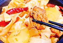 (不加酱油的)新疆大盘鸡的做法