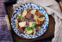 #多力金牌大厨带回家-北京站#牛肉炒杏鲍菇的做法