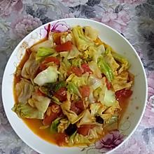 素炒莲花菜