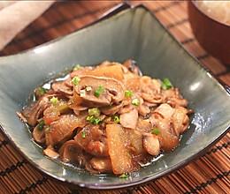 口蘑炒冬瓜的做法