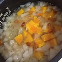 银耳雪梨木瓜营养汤的做法图解1