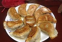 香菇豆腐素锅贴的做法