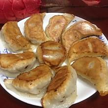 香菇豆腐素锅贴