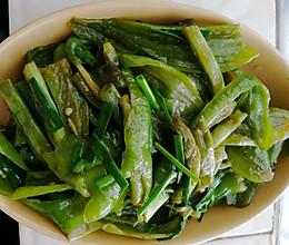 四季豆辣椒的做法