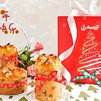 圣诞面包潘妮托尼#安佳烘焙学院#