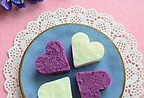 甜甜蜜蜜山药紫薯心的做法
