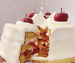 山楂圣诞蛋糕的做法