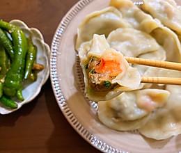 猪肉韭菜虾仁水饺的做法