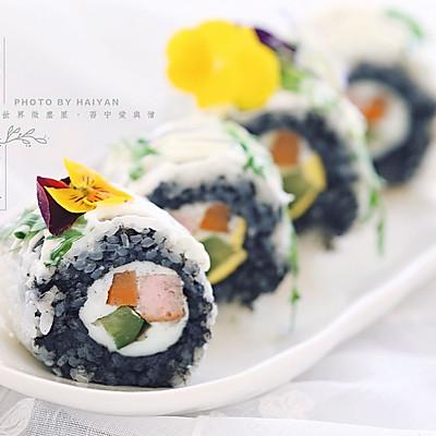 春天的寿司卷