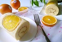 国橙蛋糕卷的做法