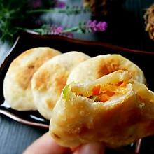 虾皮红罗卜椰菜饼