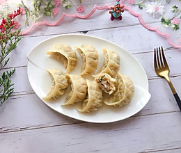 #肉食者联盟#猪肉莲藕饺子的做法