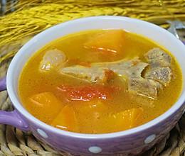 #做道好菜,自我宠爱#牛骨汤的做法