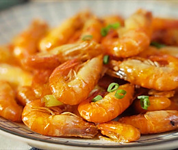 油爆河虾【孔老师教做菜】的做法