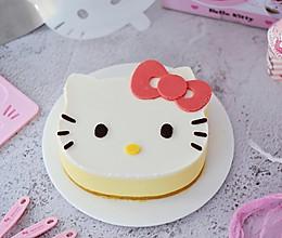 8寸KT猫芒果慕斯蛋糕的做法