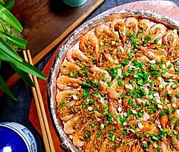 铁板蒜蓉基围虾的做法