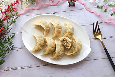 猪肉莲藕饺子