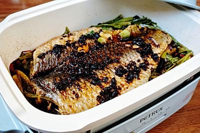 在家轻松做烤鱼;豆豉香辣烤鱼