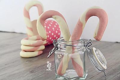 圣诞拐杖﹠棒棒糖饼干