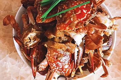 泰國紅咖喱蟹