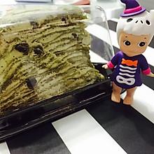 抹茶红豆千层蛋糕