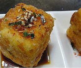 经典复刻:料理店小吃炸脆皮日本豆腐的做法