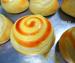 奶黄包#甜面团2次发酵法的做法