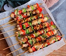 #520,美食撩动TA的心!#烤鸡肉串的做法