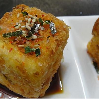 经典复刻:料理店小吃炸脆皮日本豆腐