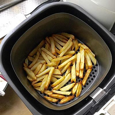 少油健康自制薯条-完胜KFC--空气炸锅