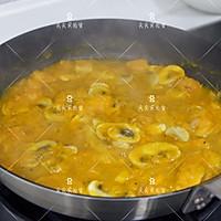 南瓜口蘑咸燕麦粥的做法图解7