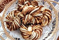 芝麻酱红糖花卷的做法