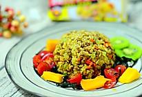 海苔咖喱牛肉炒饭#奇妙咖喱,拯救萌娃食欲#的做法