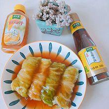 #太太樂鮮雞汁芝麻香油#翡翠白玉卷