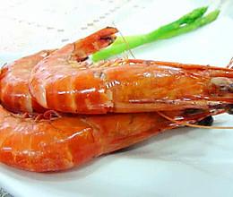 原味灼大虾的做法