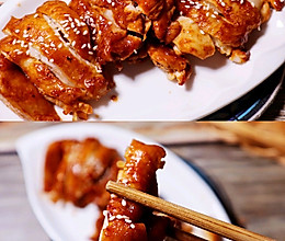 酱香烤鸡腿肉(烤箱版)烤鸡肉的做法
