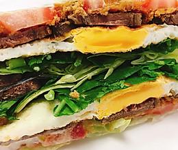 关晓彤同款蔬菜三明治的做法