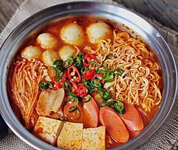 韩式辣白菜汤的做法
